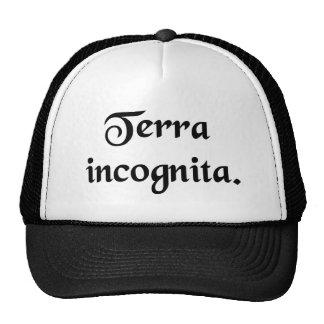 Unknown land. trucker hat