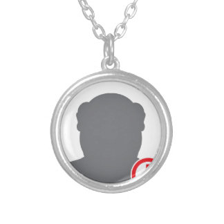 Unknown person Criminal Silver Plated Necklace
