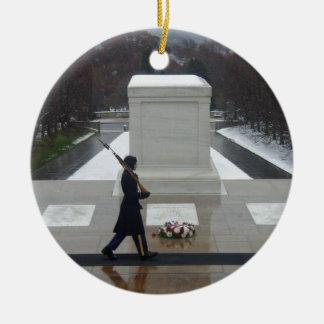 """""""Unknown Soldier"""" Ceramic Ornament"""