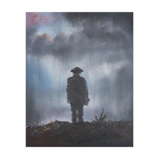 Unknown Soldier first world war 2014 Canvas Print
