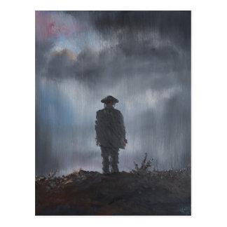 Unknown Soldier first world war 2014 Postcard