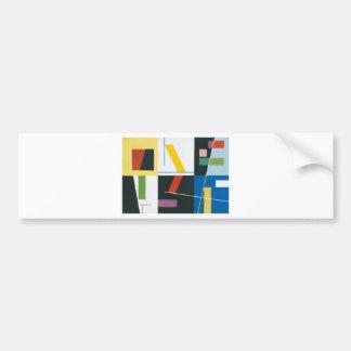 unknown title by Sophie Taeuber-Arp Bumper Sticker
