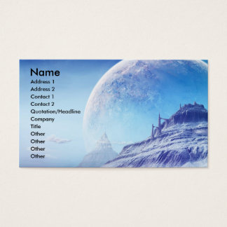 Unknown Universe, Name, Address 1, Address 2, C... Business Card