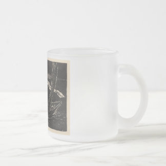 Unknown Waters Frosted Glass Coffee Mug