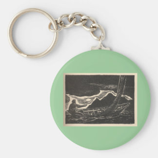Unknown Waters Keychain