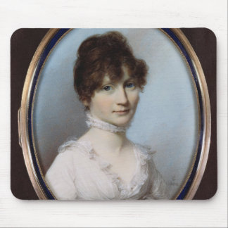 Unknown woman mouse pad
