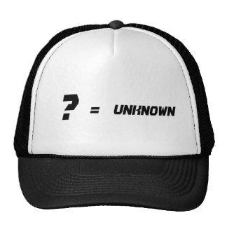 ?=UNKOWN HAT