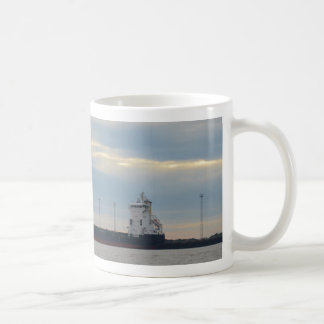 Unladen Container Ship Coffee Mug