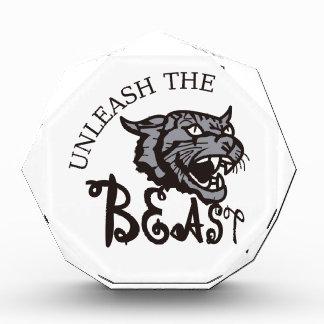 Unleash the Beast Acrylic Award