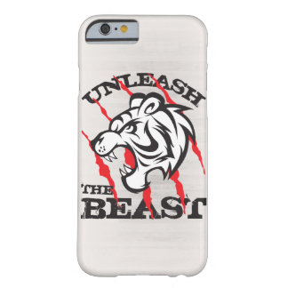 Unleash The Beast Gym Motivation Barely There iPhone 6 Case