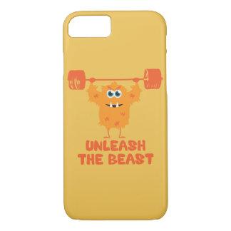 Unleash The Beast Gym Motivation iPhone 7 Case