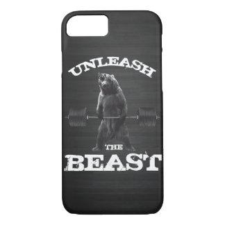 Unleash The Beast Gym Motivation iPhone 8/7 Case