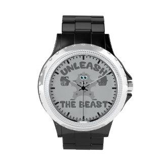 Unleash The Beast Gym Motivation Wristwatch