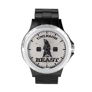 Unleash The Beast Gym Motivation Wrist Watches
