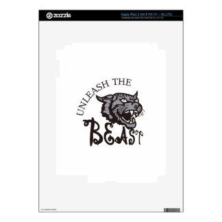 Unleash the Beast iPad 3 Skin