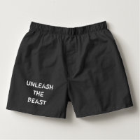 Unleash the Beast Men's Boxers Valentine's Day