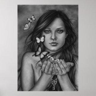 Unleash the butterflies Poster