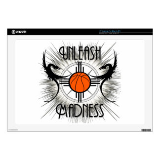 """Unleash The Madness Dragons Light 17"""" Laptop Skins"""