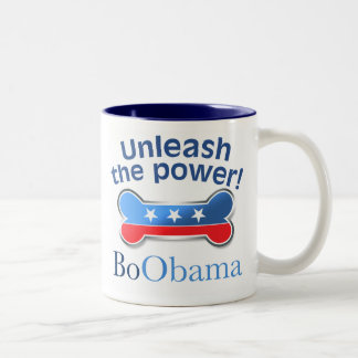 Unleash the power! Two-Tone coffee mug