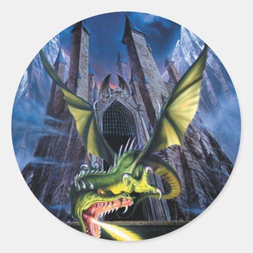 Unleashed Dragon Sticker