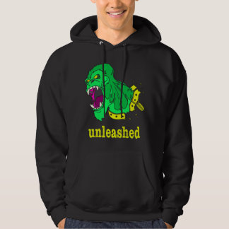 Unleashed Fitness - Green Gorilla Hoodie