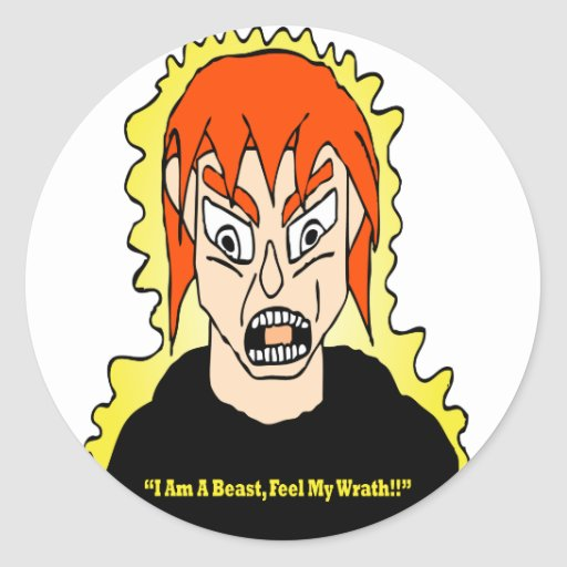 Unleashing The Beast Stickers