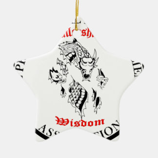 Unleashing Wisdom Ceramic Ornament