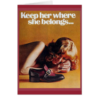 ...unless she already knows it! card