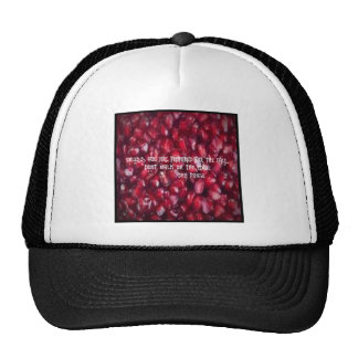 UNLESS YOU ARE PREPARED TO  FOR THE FALL DONT WALK MESH HATS