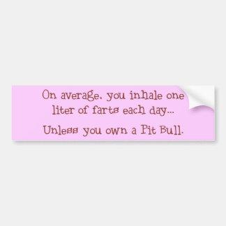 Unless You Own a Pit Bull Bumper Sticker