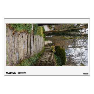 Unlevel Pathway Wall Decal