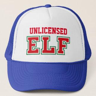 Unlicensed Christmas ELF Trucker Hat