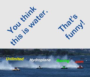 Hydroplane Gifts on Zazzle