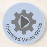 Unlimited Media Works Coaster