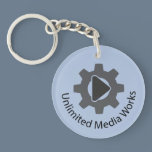 Unlimited Media Works Keychain