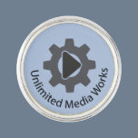 Unlimited Media Works Lapel Pin