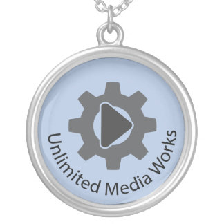 Unlimited Media Works Silver Plated Necklace