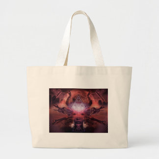 Unlimited Perception by artist Shawn Hocking Large Tote Bag