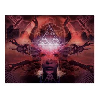 Unlimited Perception by artist Shawn Hocking Postcard