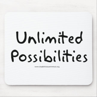 Unlimited Possibilities Mouse Pad