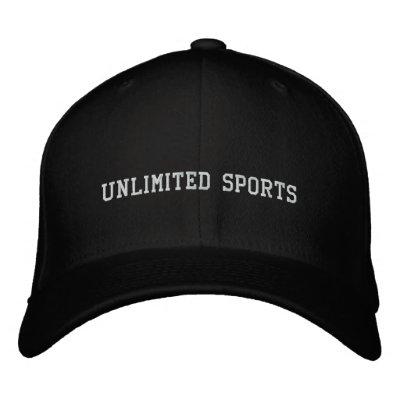 Unlimited Sports Hat Baseball Cap