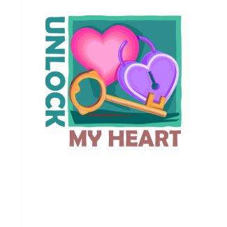 Unlock my heart, a Valentine's Day Gift with gokey shirt