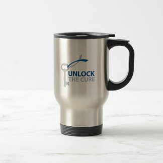 Unlock the Cure Travel Mug