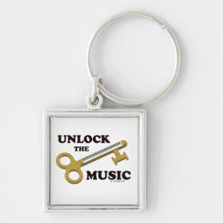 Unlock The Music Keychain