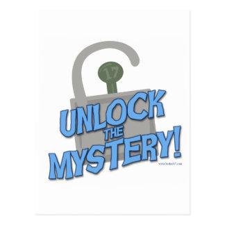 Unlock The Mystery! Postcard