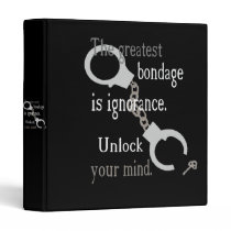 Unlock Your Mind Dark Binder