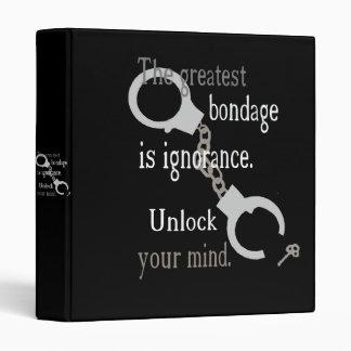 Unlock Your Mind Dark Binder