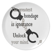 Unlock Your Mind Plate