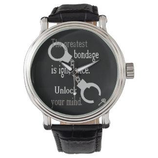 Unlock Your Mind Wrist Watch