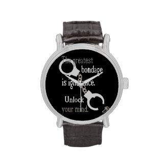 Unlock Your Mind Wristwatches